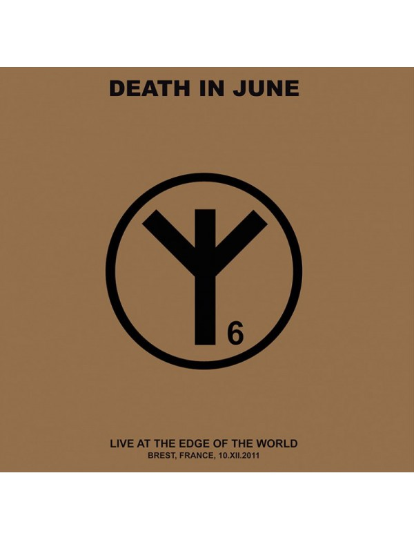 Death In June - Live At The Edge Of The World [2LP GREY] 2018