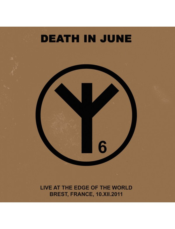 "Death In June - Live At The Edge Of The World [CD+7""] 2018"