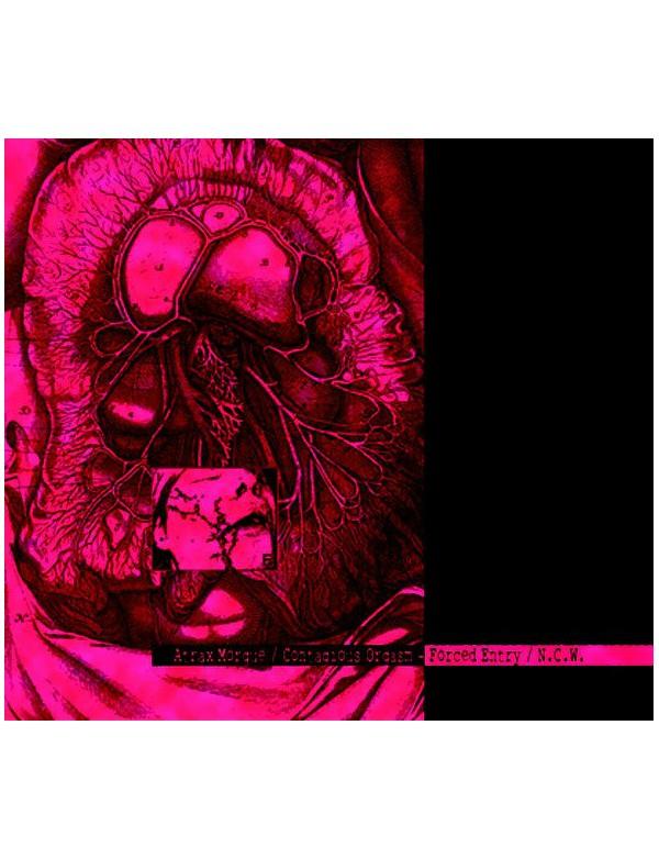 Atrax Morgue / Contagious Orgasm - Forced Entry / N.C.W. [CD]