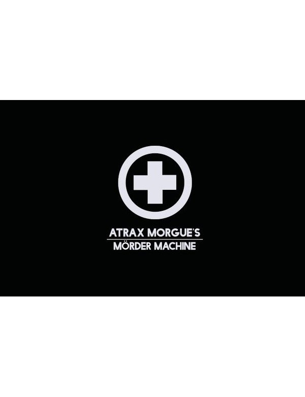 Atrax Morgue's - Morder Machine [BOX 3CD-DVD-MC]