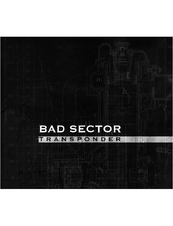 Bad Sector - Transponder [CD]