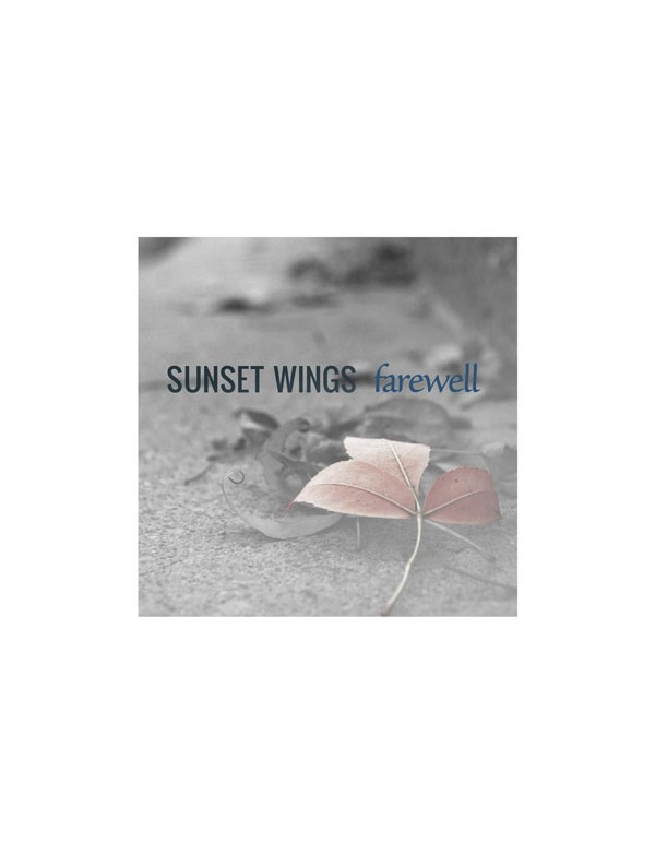 Sunset Wings - Farewell [CD]