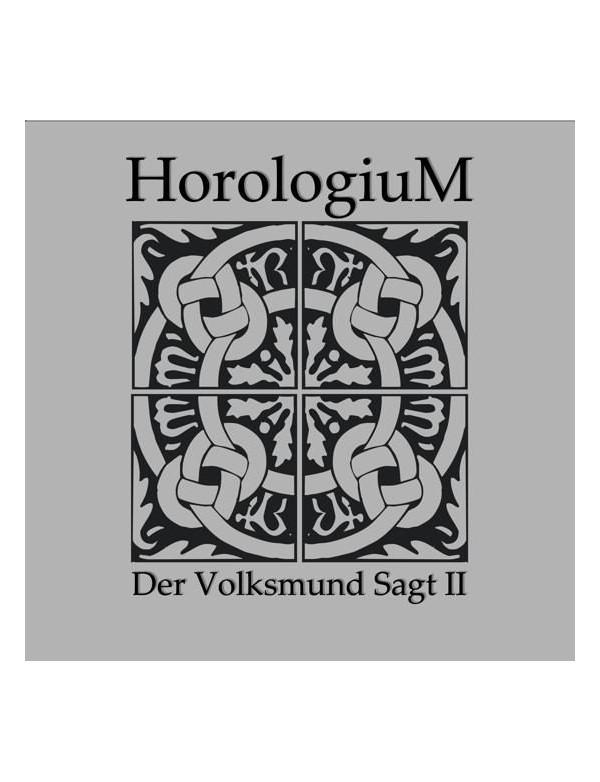 """Horologium - Der Volksmund Sagt [10""""]"""
