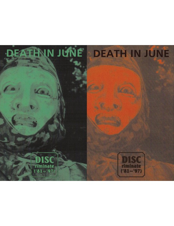 Death In June - Discriminate [2*Tapes]